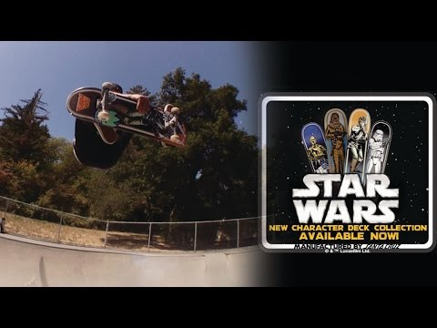 Star Wars X Santa Cruz Featuring Santa Cruz Pro Team!