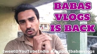 Baba's Vlog - New Channel Update!