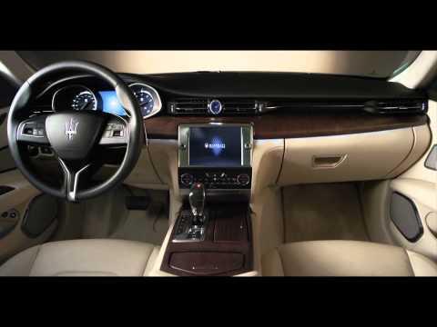 Maserati Quattroporte 2013 - Официальное промо-видео