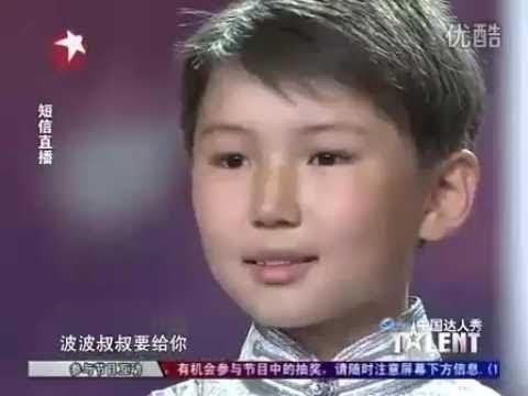 Wzruszający występ mongolskiego chłopca w chińskim Mam Talent [NAPISY PL]