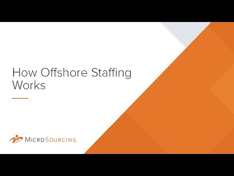 How Offshore Staffing Works