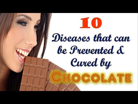 10 Diseases Prevented & Cured by CHOCOLATE