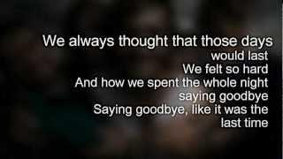 Watch Every Avenue Saying Goodbye video