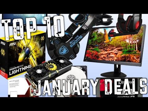 Top 10 PC & Gaming Deals! (January 2015)