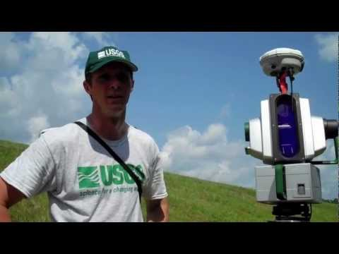USGS Scans Percy Quin State Park Dam in Mississippi with LiDAR