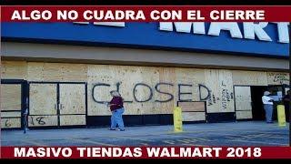 ALGO NO CUADRA CON EL MAS RECIENTE CIERRE MASIVO TIENDAS WALMART SAMS CLUB