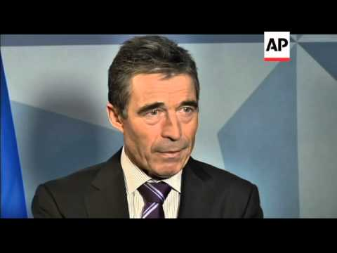 NATO chief defends plans for a ballistic missile shield in Europe