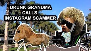 Crazy Grandma Prank Calls Instagram Scammer - The Hoax Hotel