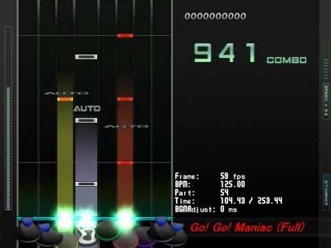 [DTX] HTT - Go! Go! Maniac! (Full) (K-on Season2 OP)