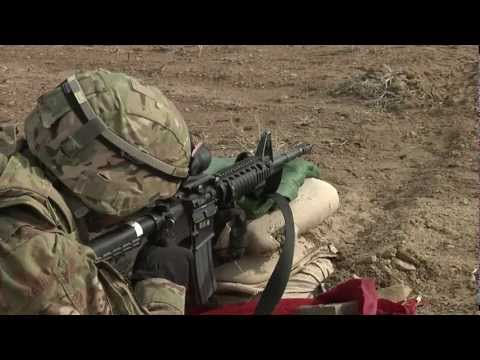 Shooting the M4 Carbine in Afghanistan