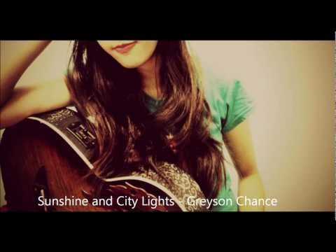 Sunshine And City Lights (cover) - Greyson Chance video