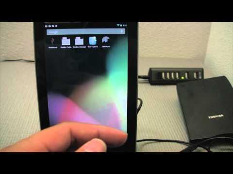 Nexus 7 USB Storage & 1.44Mb of DOS Floppy Fun!