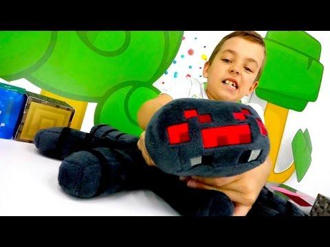 Видео обзор обновлений в Майнкрафте. Игрушки minecraft для мальчиков.