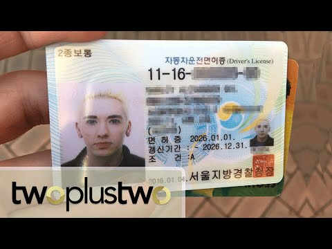 HOW TO GET A KOREAN DRIVING LICENSE!