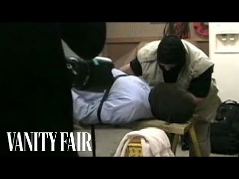 Watch Christopher Hitchens Get Waterboarded (VANITY FAIR)
