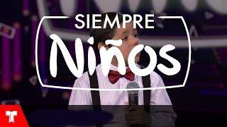 Enoc Girado sorprende cantando tango como un profesional en Siempre Niños (VIDEO)