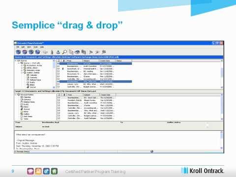 Kroll Ontrack Italia - Data management in Microsoft Exchange e SharePoint server