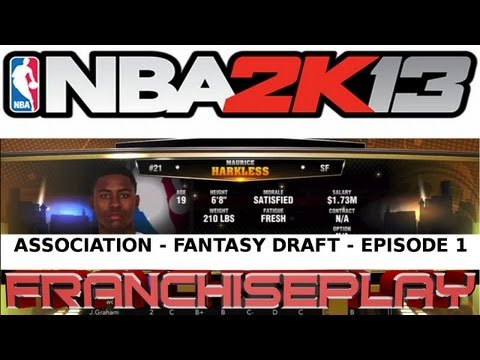NBA 2K13 - Fantasy Draft Association - Chicago Bulls - Episode 1
