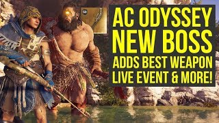 Assassin's Creed Odyssey DLC NEW POWERFUL WEAPON From Mythical Creature & More (AC Odyssey DLC)