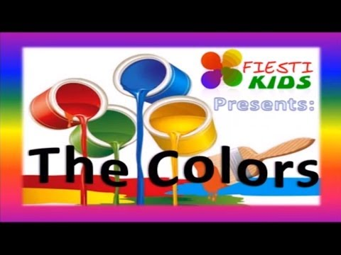 Los Colores En Inglés Para Niños. Learning The Colors for Children (Canción Infantil) HD