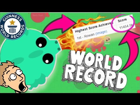 Going for Mope.io WORLD RECORD! (11,000k)