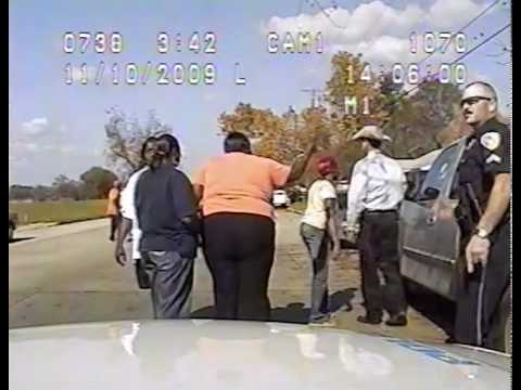 Paris Texas Police Officer Throws Teen on Car