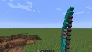 Обзор модов Minecraft #1-Новый лук и стрелы