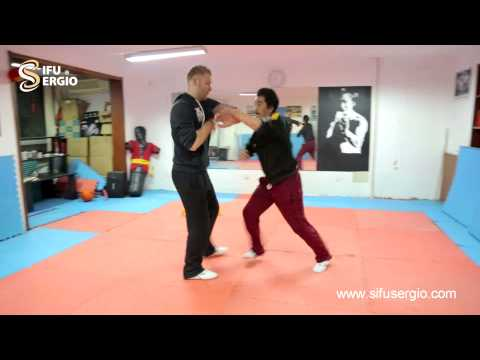 Sifu Sergio presents Sifu Wang Zhi Peng Ving Tsun, throwing techniques Image 1