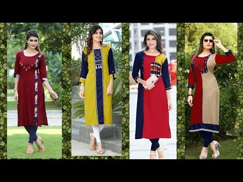 Unique Long Kurti Design/Trending Kurti Design 2018-19