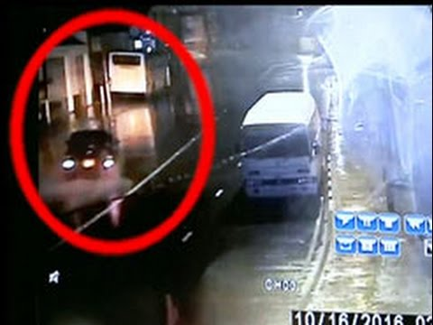 CCTV footage: accident involving actress Kaveesha Ayeshani