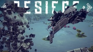 Besiege Best Creations - Destruction Derby, Tank Castle? RC Car & More!(Besiege Alpha Gameplay)