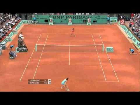 Ana Ivanovic vs. Jelena Jankovic 2008 Highlights