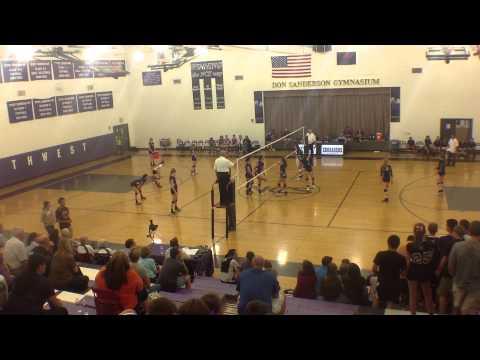 Northwest Christian High School vs Veritas, 9/26/2013,  Game 2