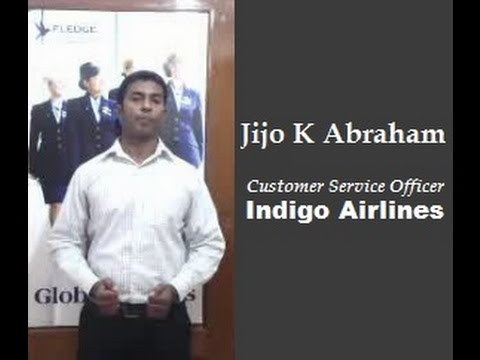 Fledge Student Testimonial | Jijo K Abraham | Placed in Indigo Airlines
