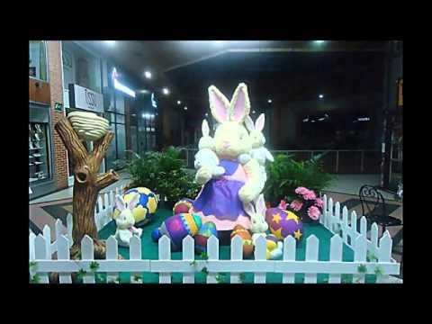 Decoracion centro comercial cedritos huevos de pascua for Decoracion de pascua