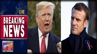BREAKING: After Trashing Trump and Nationalism Macron Gets a BRUTAL Dose of Truth