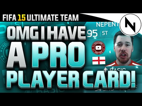 OMG I HAVE A PRO PLAYER CARD! - FIFA 15 Ultimate Team