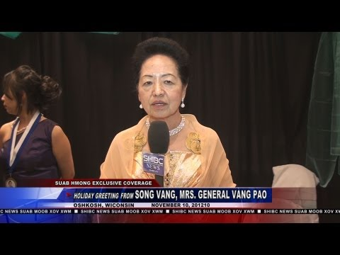 Suab Hmong News: Holiday Greeting from May Song Vang, Mrs. General Vang Pao