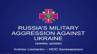 Russian military aggression in eastern Ukraine. UCMC 04.09.2017