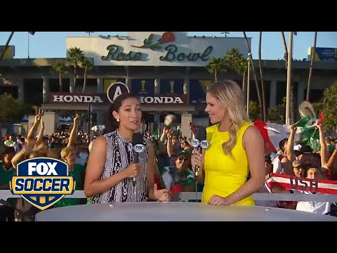 Christen Press gives her prediction for USA vs. Mexico | 2015 CONCACAF Cup