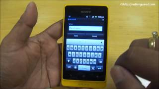 Sony Xperia Go complete Review_ Take me out
