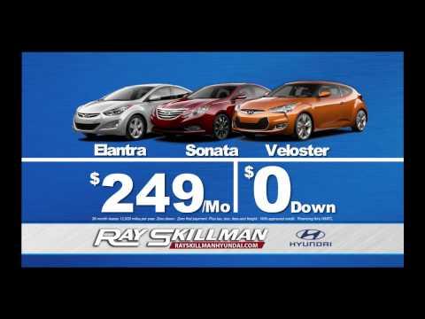 Ray Skillman Hyundai - Sign and Drive Sales Event