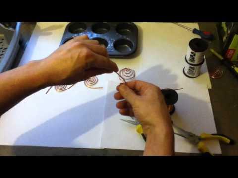 Making Coil For Orgonite TB/SBB