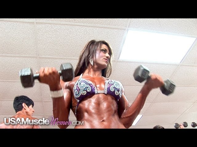 2012 NPC Junior Nationals Women's Bodybuilding & Physique Pump Room