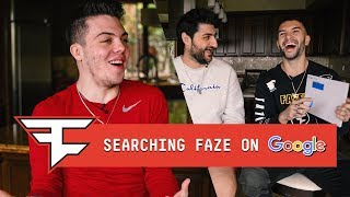 FaZe Clan Answer the Web's Most Searched Questions