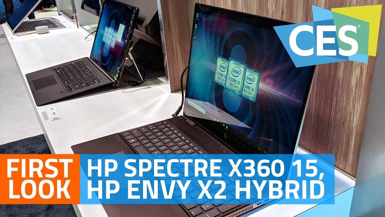 HP Spectre x360 15, HP Envy x2 Hybrid First Look