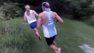 Runners' View of a Cross Country Race