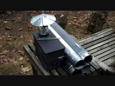 DIY AMMO CAN TENT STOVE  (PART 2)