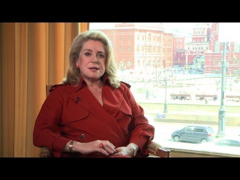 "Catherine Deneuve: ""My goal is not to be happy"""