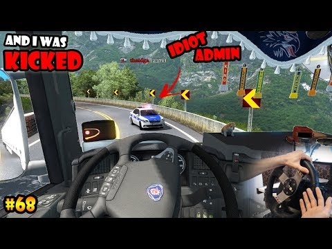 ★ IDIOTS on the road #68 - ETS2MP | Funny moments - Euro Truck Simulator 2 Multiplayer